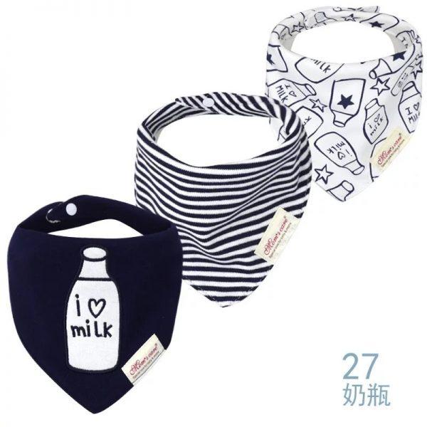 دستمال گردن نوزادی love milk