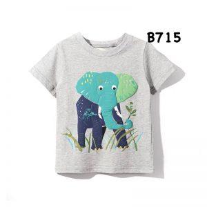 تی شرت آستین کوتاه بچگانه طرح فیل