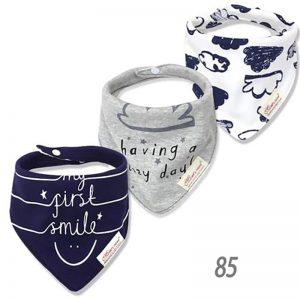 دستمال گردن نوزادی مدل Smile