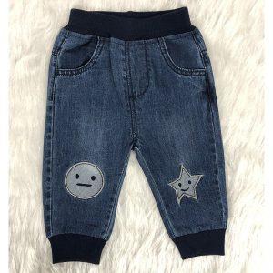 شلوار جین نوزادی ماه و ستاره
