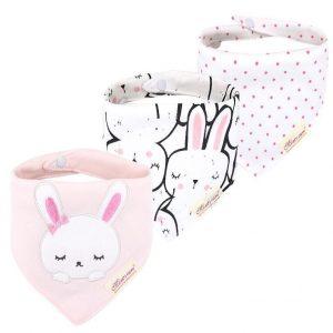 دستمال گردن و پیشبند نوزادی خواب خرگوش