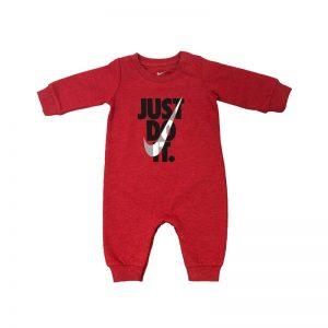 سرهمی نوزادی برند نایک قرمز -S843
