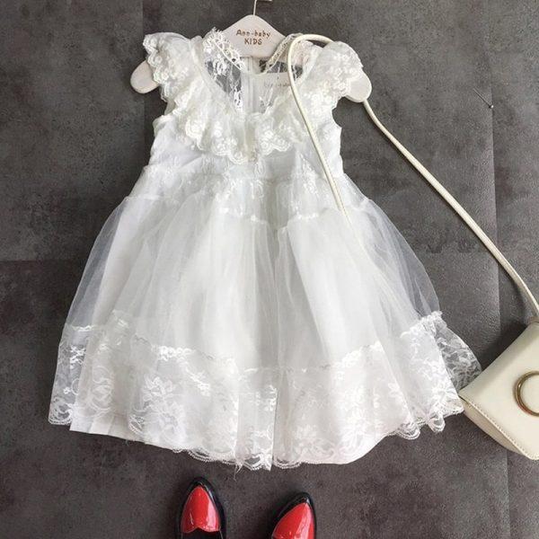 لباس مجلسی دخترانه توری