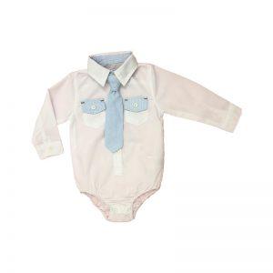 لباس زیر دکمه دار نوزادی مجلسی