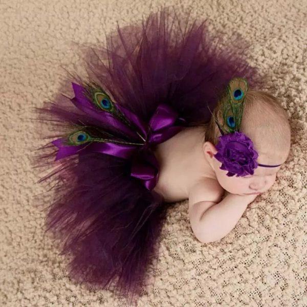 دامن توتو نوزادی