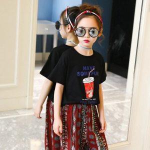تنخور لباس بچه گانه تابستانی