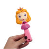 برس مو دخترانه عروسکی مو زرد 2