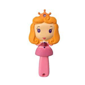 برس مو دخترانه عروسکی مو زرد