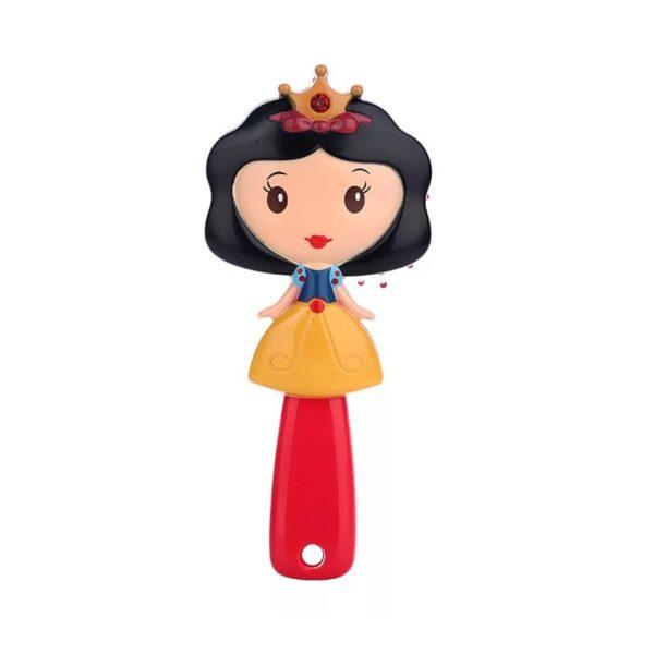 برس مو دخترانه عروسکی مو مشکی