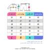 جدول سایز بلوز شورت تابستانی