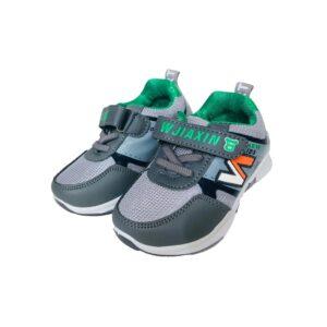 کفش بچه گانه مدل 2021 رنگ طوسی ژورنالی