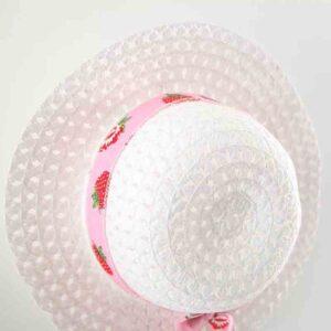 کلاه سارافون بچه گانه تابستانی دخترانه با کلاه