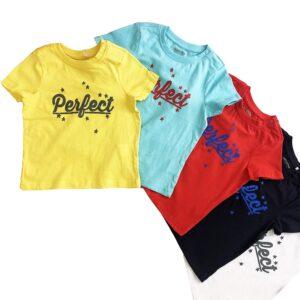 تی شرت بچه گانه طرح PERFRCT
