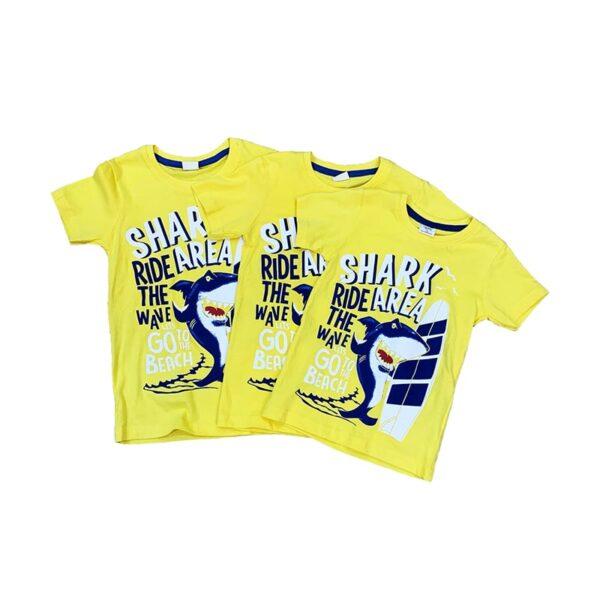 تی شرت بچه گانه طرح کوسه