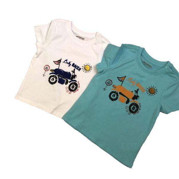 تی شرت بچه گانه طرح موتوری