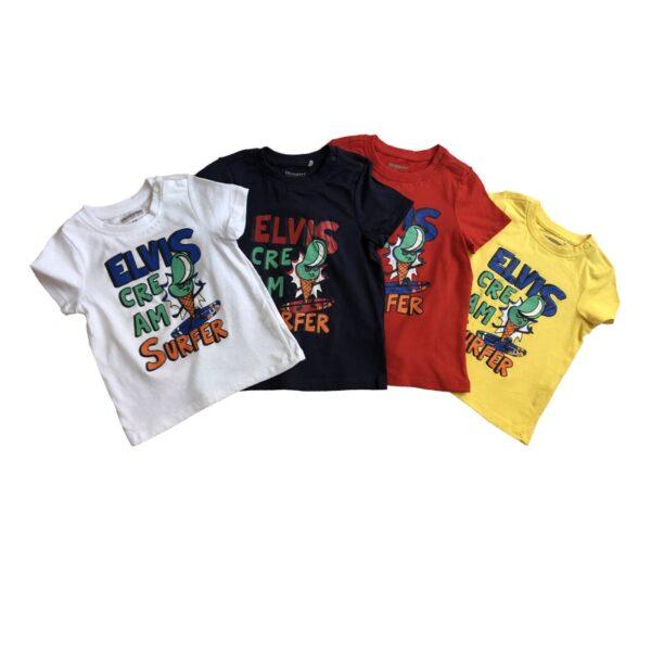 تی شرت بچه گانه طرح کارتونی الویس