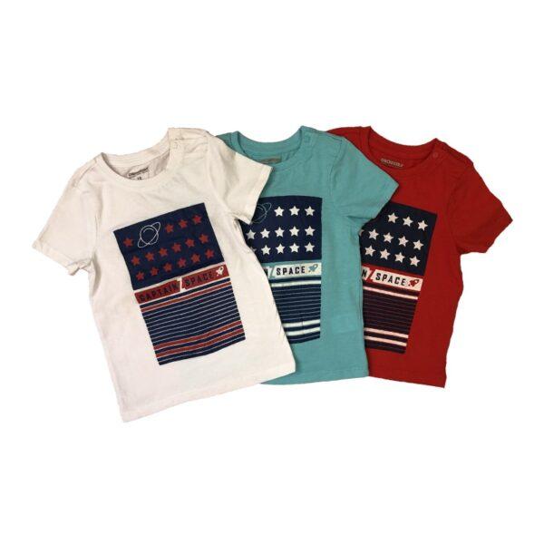 تی شرت بچه گانه طرح فضایی ستارگان