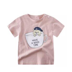 تی شرت آستین کوتاه بچگانه خرسی