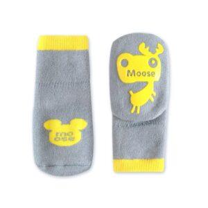 جوراب بچگانه زمستانی طرح گوزن